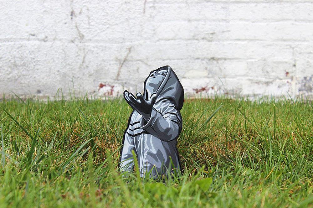 Rue Bois Art Miniature Installé par Joe Iurato