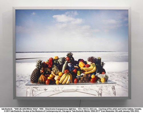 "Iain Baxter& - ""Still Life with Winter Vista"", 1996 by artimageslibrary"