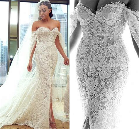 Latest Design Full Lace Mermaid Wedding Dresses 2018 Off