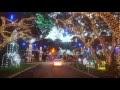Beautiful Christmas Display Near Jupiter, FL - Video