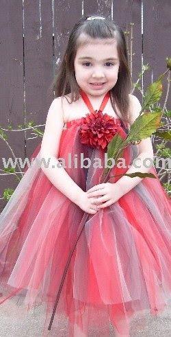 Vestido do tutu da cabeçada da menina em algumas 3 cores