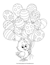 Easter Coloring Pages • FREE Printable PDF from PrimaryGames