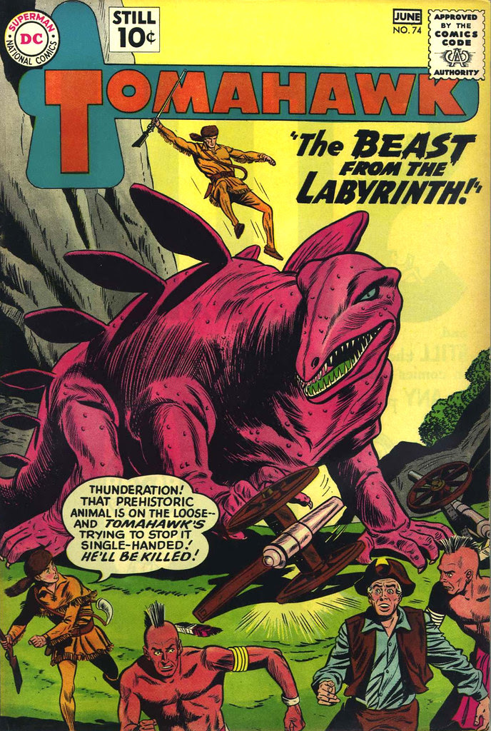 Tomahawk #74 (DC, 1961)