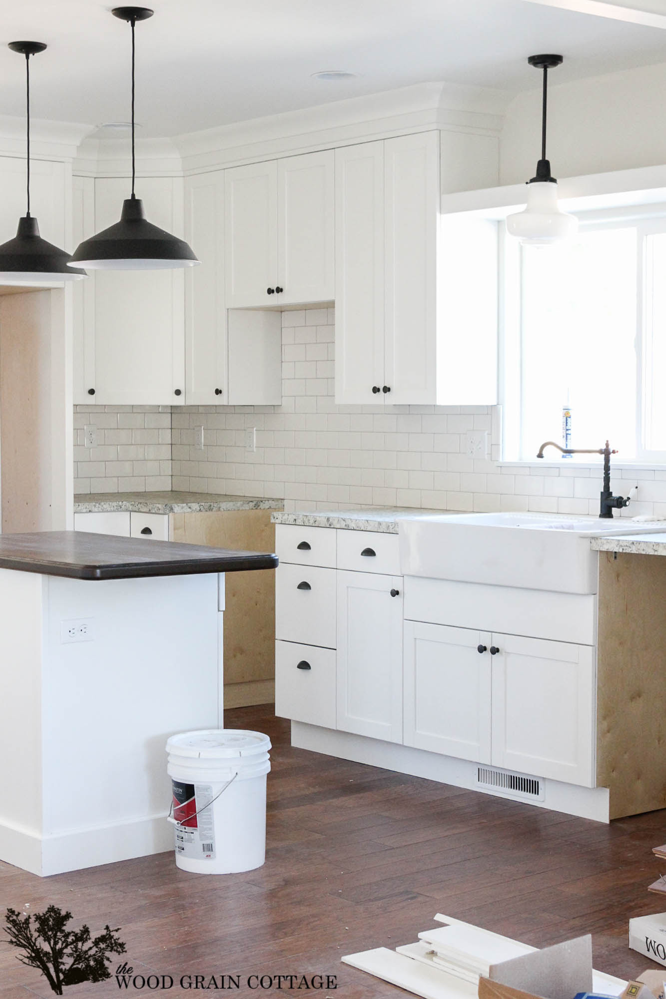 Fixer Upper Update Cabinet Knobs by The Wood Grain Cottage 21