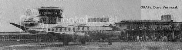 Viscount, The Opening of Bulawayo Airport