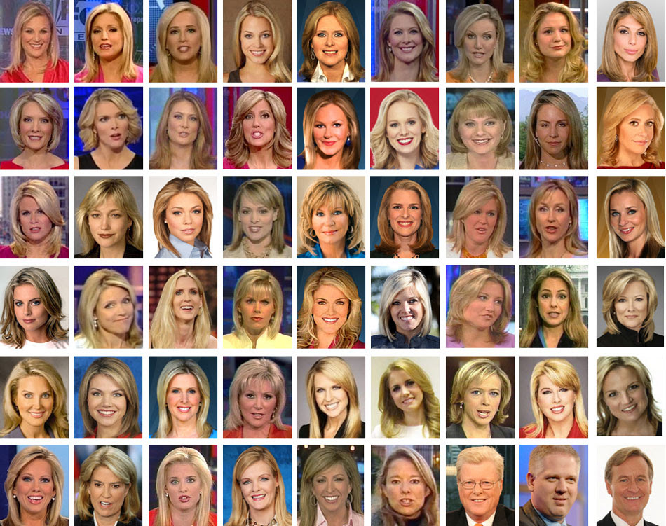 FoxNews blondes hired by Roger Ailes over the years.