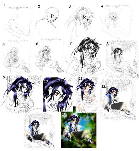 tutorial drawing anime guide  manic goose  deviantart