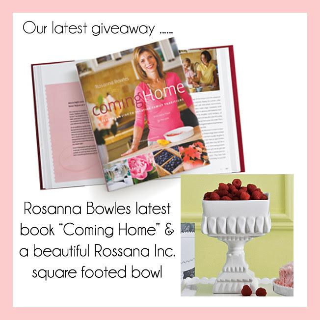 Rosanna Giveaway