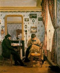 The Student - Francisco Oller