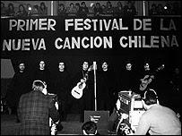 Festival de la Nueva Canción Chilena. Foto: Fundación Victor Jara