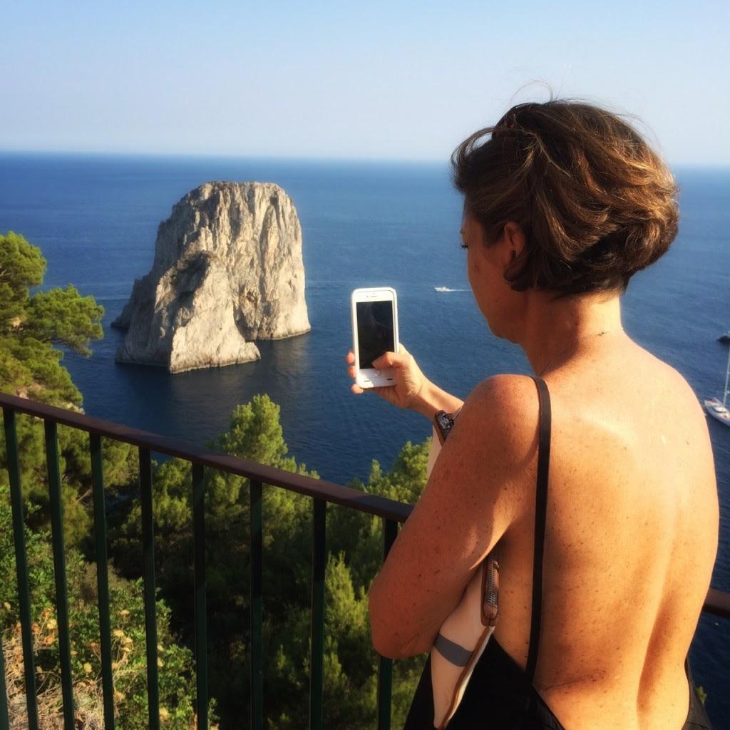Chegamos ao símbolo de Capri!