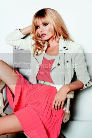 Kate Moss For Mango Spring 2012 Ad Campaign