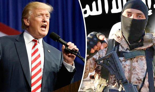 Risultati immagini per TRUMP ISIS