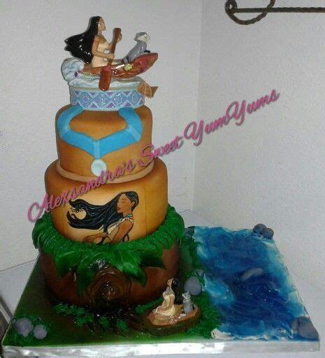 Pocahontas theme cake please follow me on Instagram