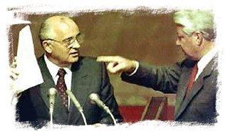 Tras el fallido golpe de agosto de 1991, el líder ruso Borís Yeltsin se convirtió en el nuevo hombre fuerte de la situación