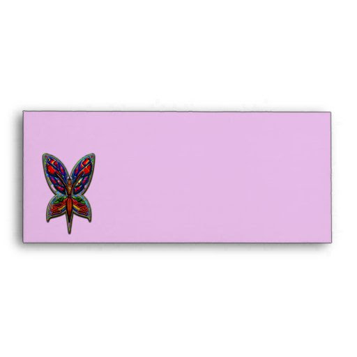 Download Butterfly Woman Envelope | Zazzle