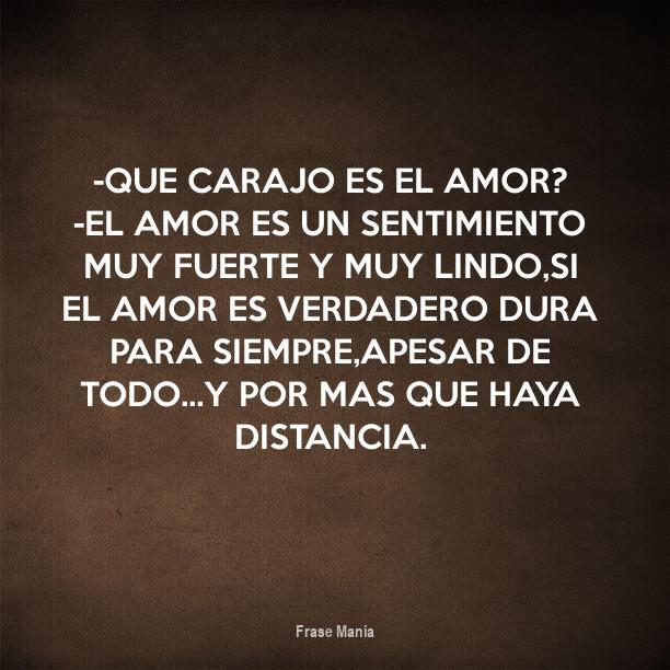 Cartel Para Que Carajo Es El Amor El Amor Es Un Sentimiento Muy
