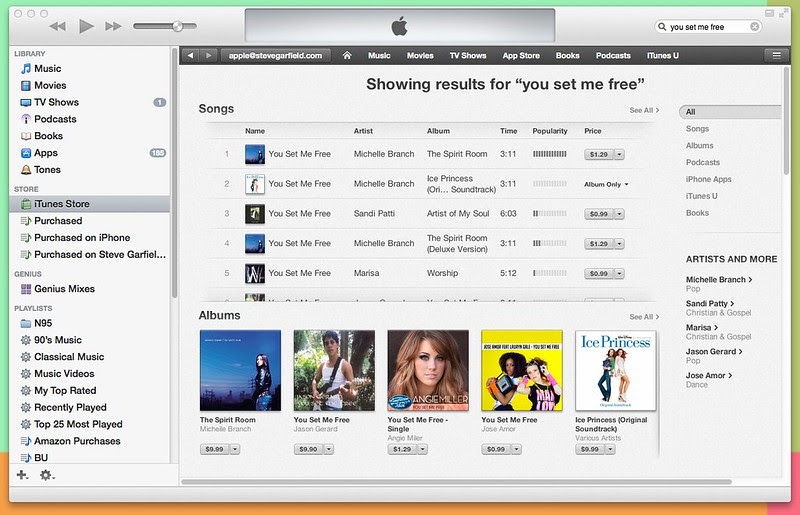 iTunes - You Set Me Free - Angie Miller