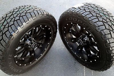 20 Black Wheels Tires Dodge Truck Ram 1500 20x9