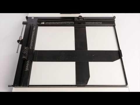 Beseler 8x10 Borderless Darkroom Enlarging Printing Easel