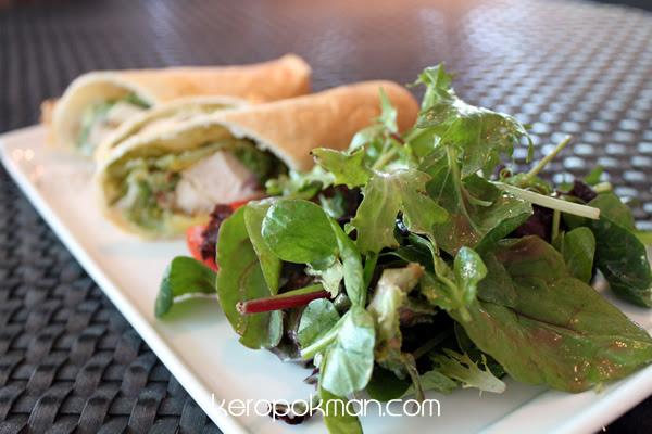 Grilled Cajun Chicken Wrap - Privé - Bakery Cafe @ Marina at Keppel Bay