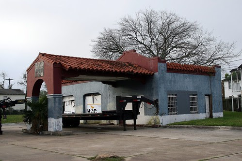 another former gas station in baytown