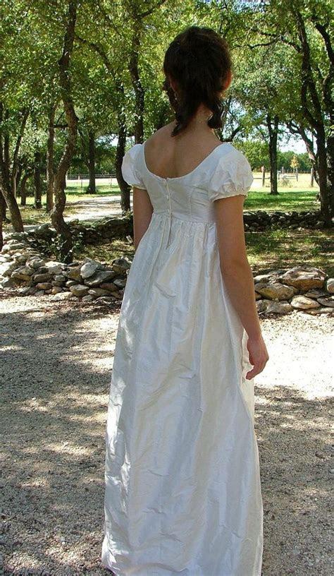 Regency Jane Austen Wedding Dress or Ball Gown by