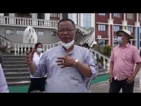 Health Minister visits Quarantine Centres at Imphal West and Imphal East