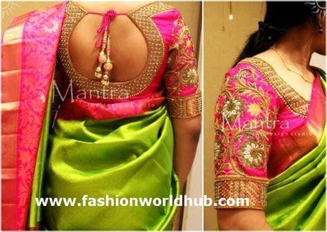 Saree blouse design patterns  Stylish   Fashionworldhub