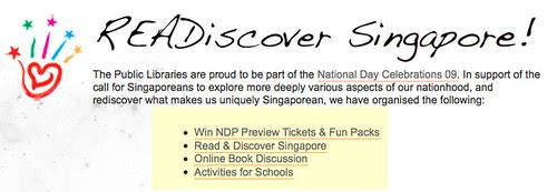 Public Libraries Singapore - READiscover Singapore!