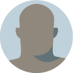 Icon of a faceless bald man