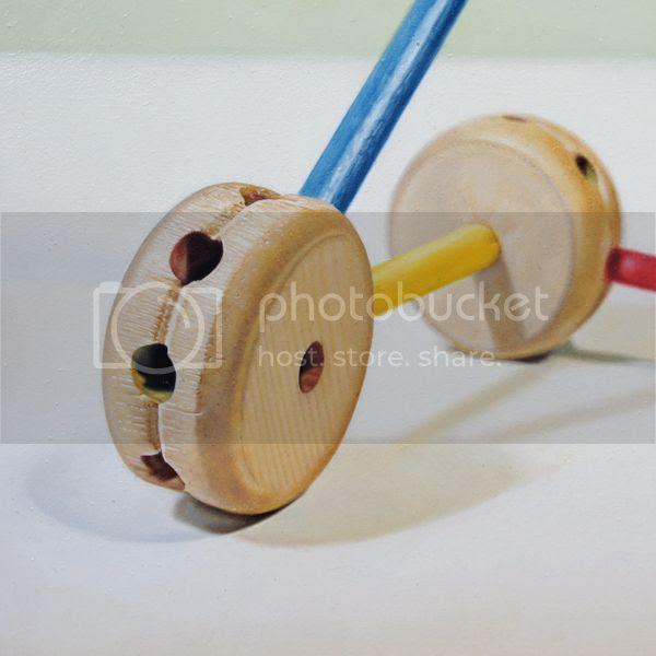 tinker toy molecule no. 2 ( detail view)