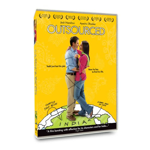 Cover art for Outsourced DVD