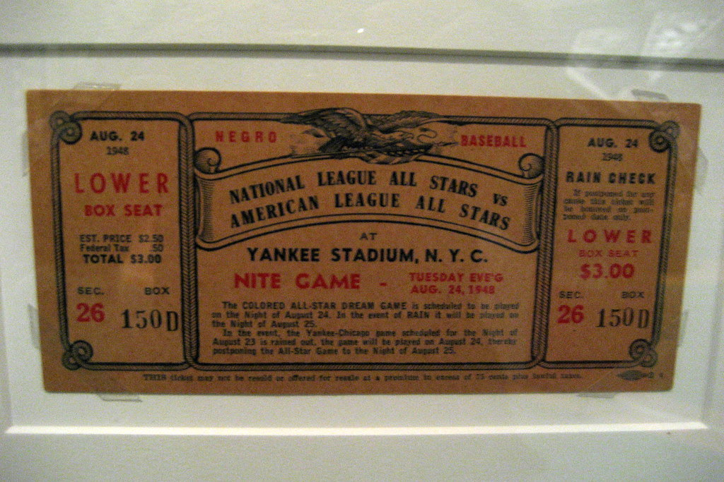 Nyc Ues Mcny The Glory Days 1948 Negro League All