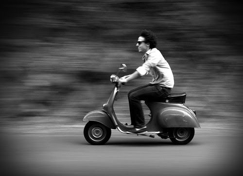Vespa for ever by mathieuparent http://mathieuparent.free.fr