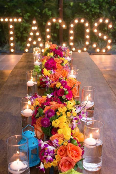 BohemiaDelMar   Floral centerpieces, Fiestas and Centerpieces