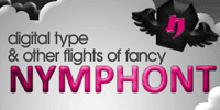Nymphont - Digital Type and Other Blogger Flights of Fancy