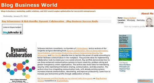 Blog Business World by totemtoeren