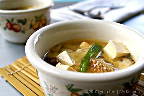 FIsh Miso Soup
