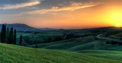 tarbiah rohani pemandangan  cantik