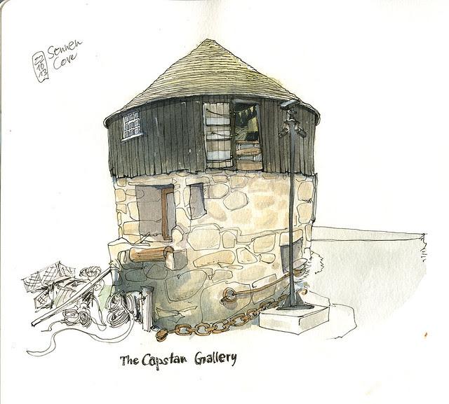 Capstan Gallery, Sennen Cove