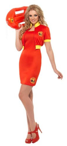 Baywatch Beach Women's Lifeguard Costume