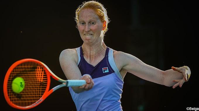 Alison Van Uytvanck grijpt naast kwartfinales in Roemenië