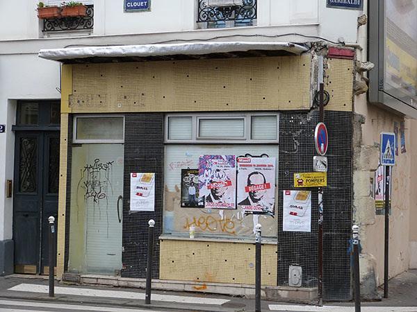 vieille boucherie de la rue Clouet