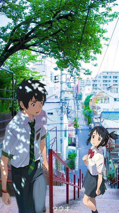 aesthetic anime aestheticanime yourname aesthetic
