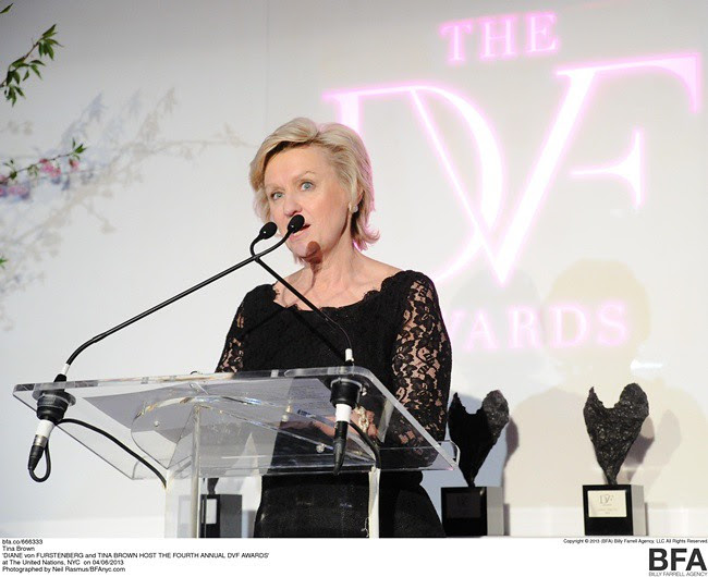 DIANE von FURSTENBERG and TINA BROWN HOST THE FOURTH ANNUAL DVF AWARDS