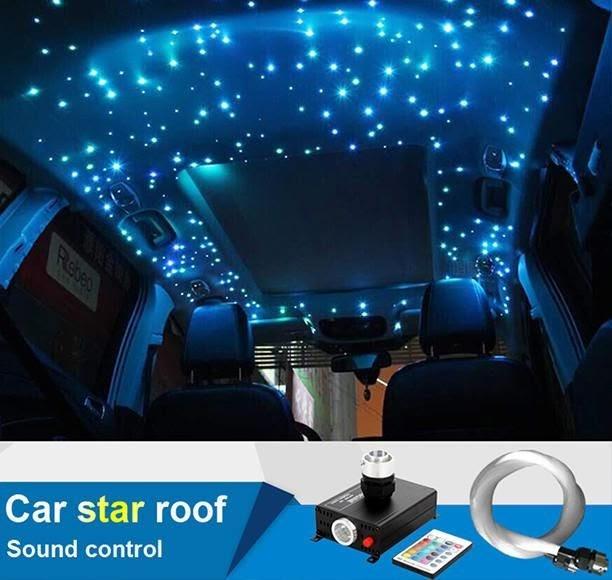 Car Interior Roof Light Stars