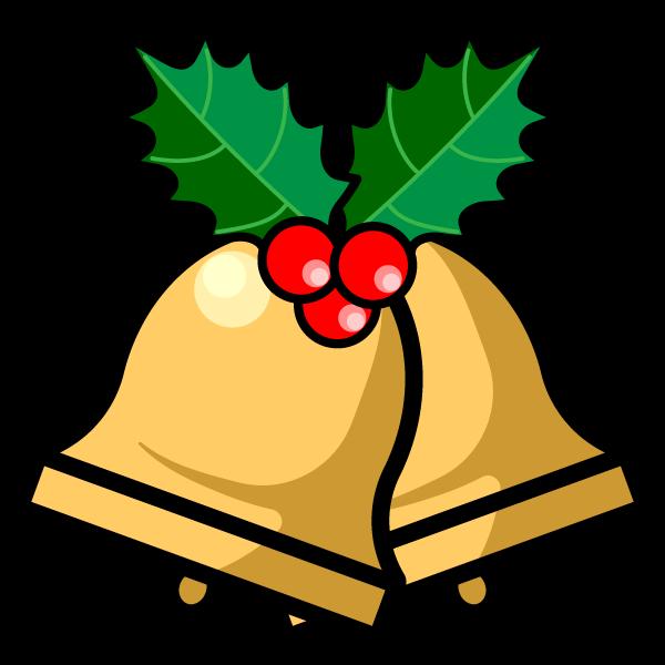 かわいいクリスマスベル4の無料イラスト商用フリー オイデ43