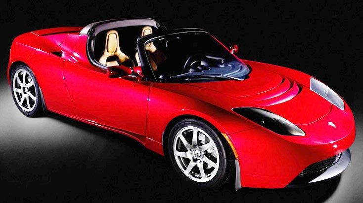 Tesla Roadster Elétrico