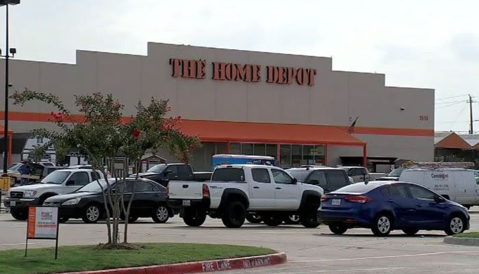 Home Depot says the company has a strict policy that only trained personnel can engage shoplifters. (Source: KTRK/CNN)